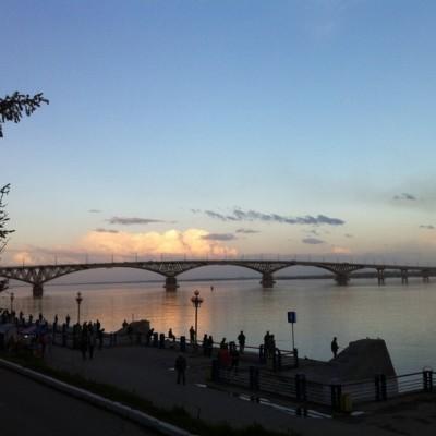 Řeka Volha