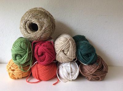pletací bavlna